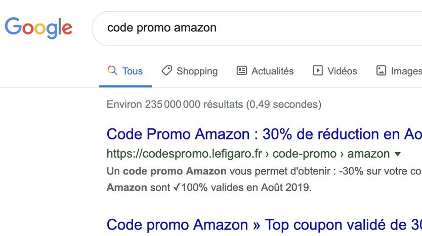 location sous domaine google