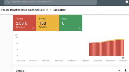 Rapport «Vitesse» : un nouveau rapport experimental sur la Google Search Console !