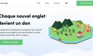 bourgad extension navigateur don