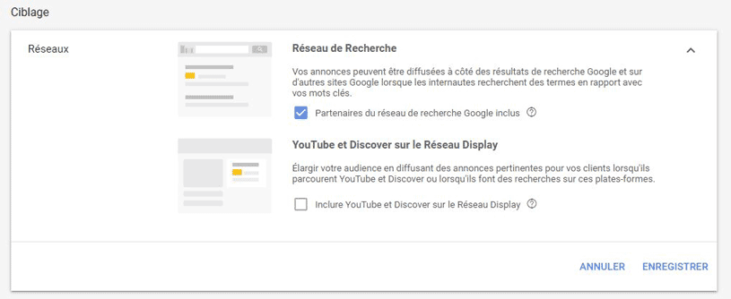 ciblage YouTube Google Shopping