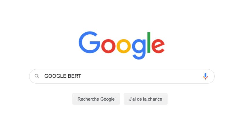 mise à jour google bert