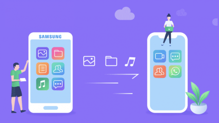 Comment transférer les données d'un smartphone Samsung vers un iPhone ?