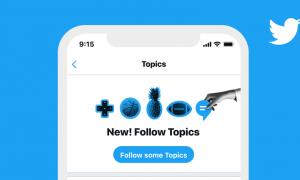 twitter topics suivre hashtags