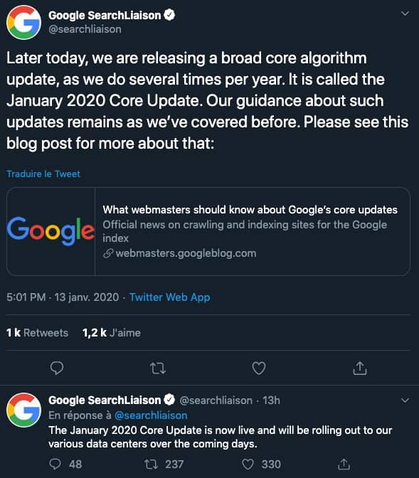 january core update google