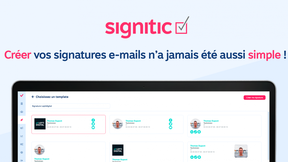 4 étapes pour optimiser les signatures e-mails de mon entreprise
