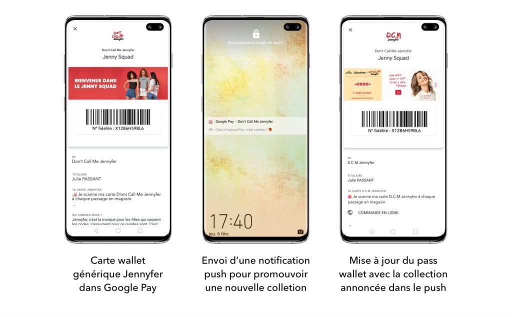 Mise à jour des campanges wallet sur Android