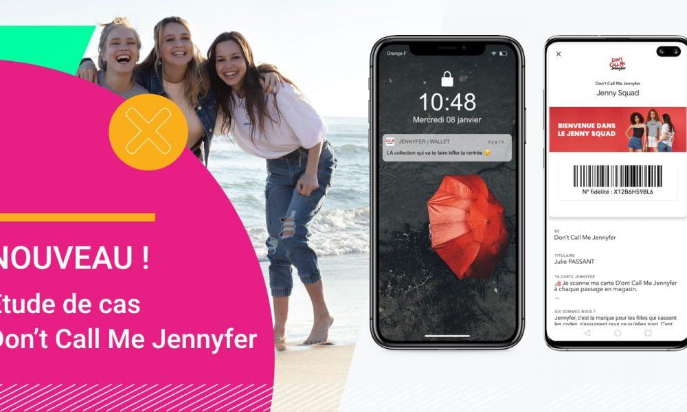 Wallet mobile - que pouvez-vous faire - L'exemple de Don't Call Me Jennyfer