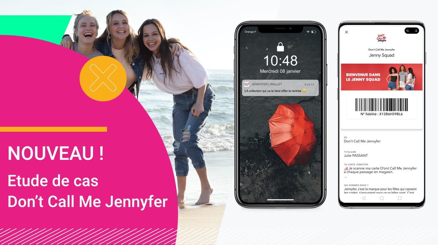 Wallet mobile - que pouvez-vous faire - L'exemple de Don't Call Me Jennyfer