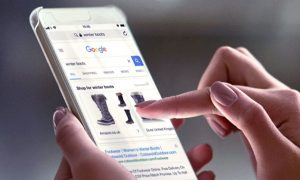 Publicités google shopping showcase