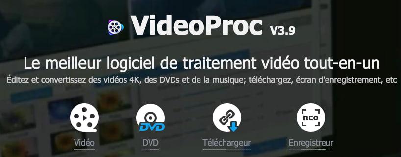 videoproc télécharger vidéo facebook