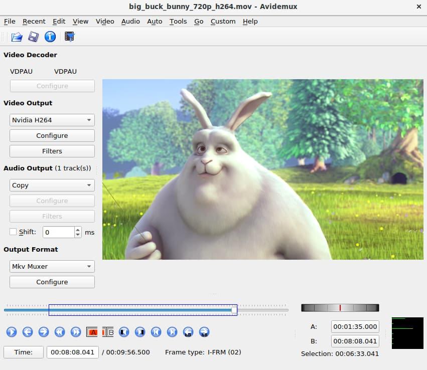 avidemux logiciel montage video gratuit