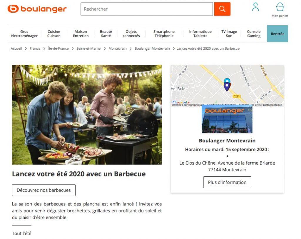 boulanger personnalisation e-commerce