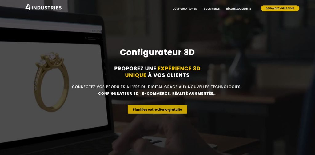 configurateurs 3d 4 industries