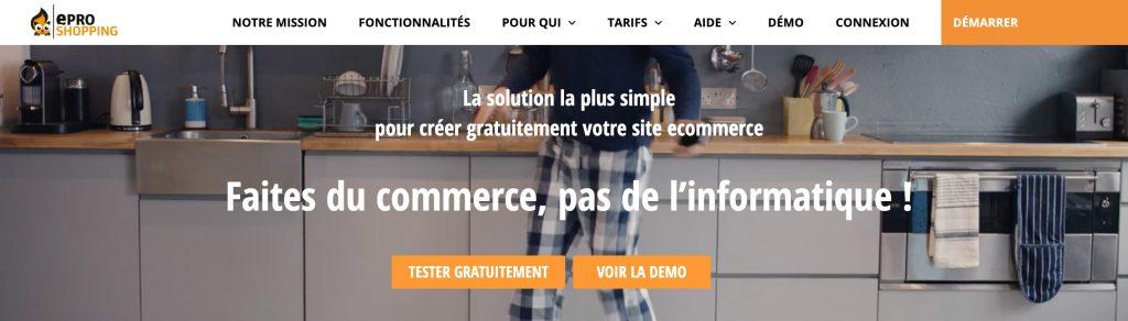 e-pro shopping