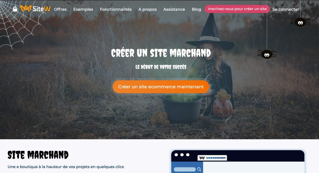 sitew e-commerce