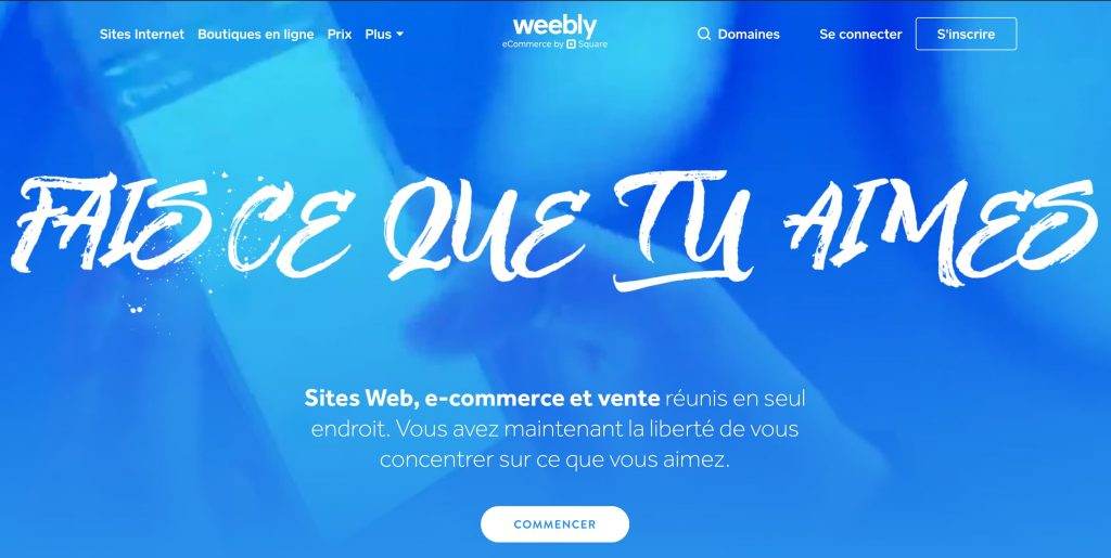weebly ecommerce