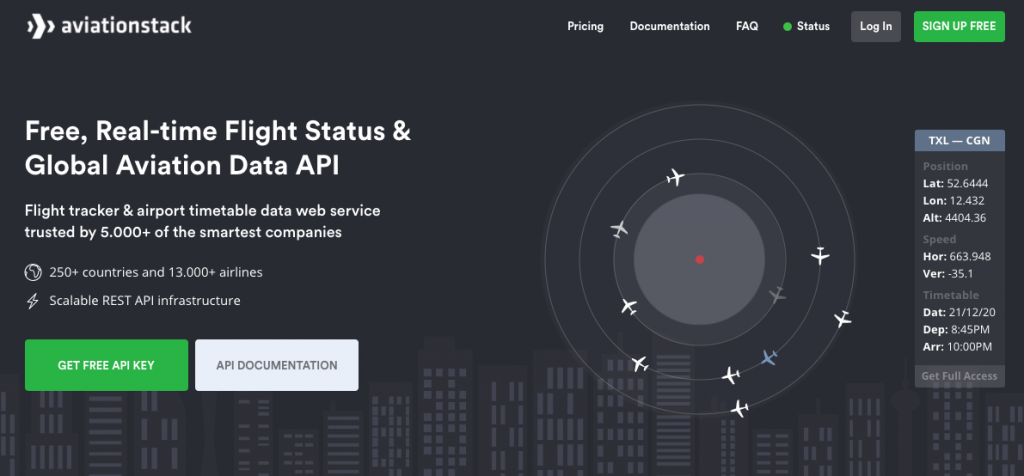 api aviation stack
