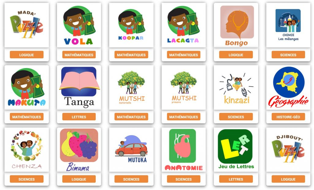 applications éducatives afrique