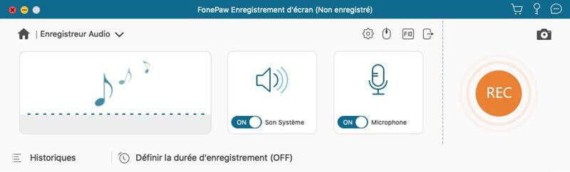 fonepaw configuration audio mac