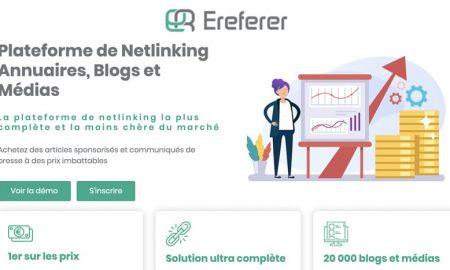 ereferer plateforme netlinking