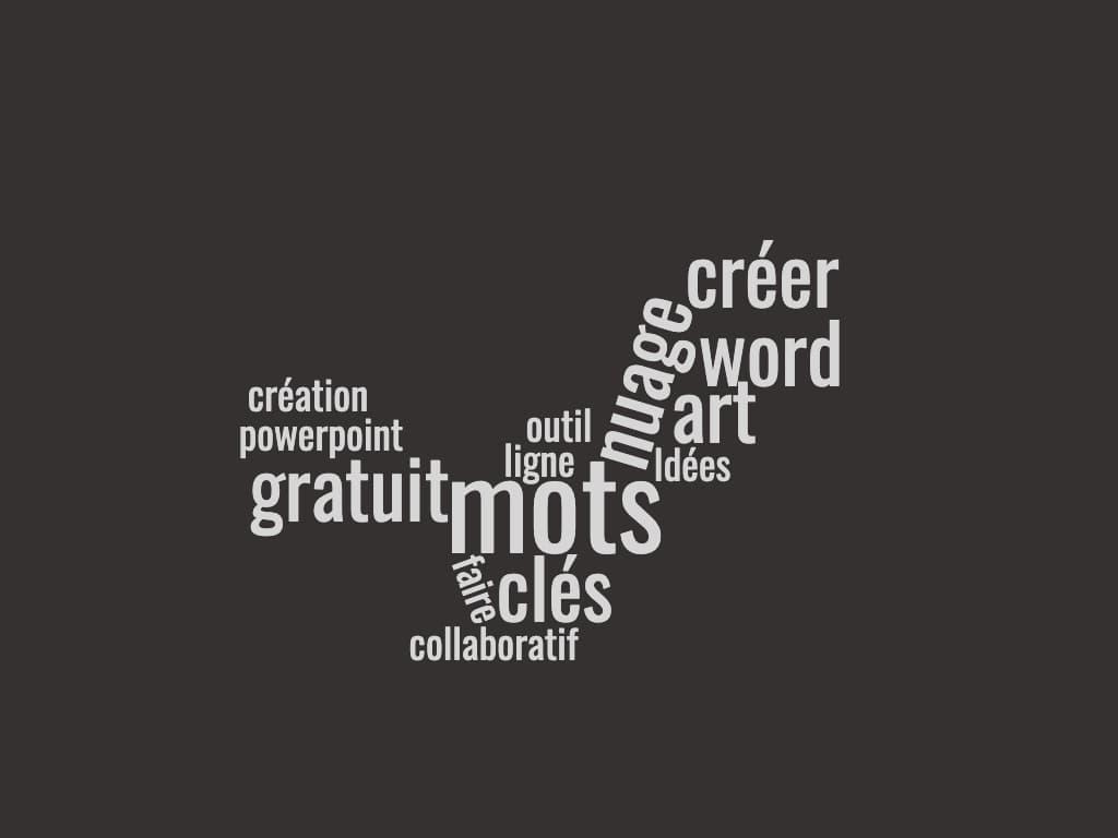 exemple de nuage de mots