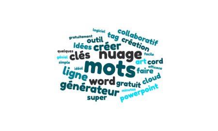 générateur nuage de mots gratuit