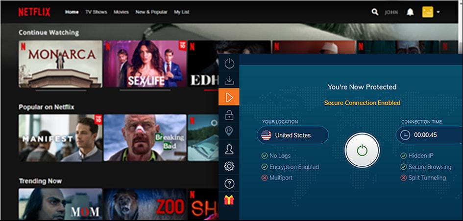 accès netflix usa vpn ivacy