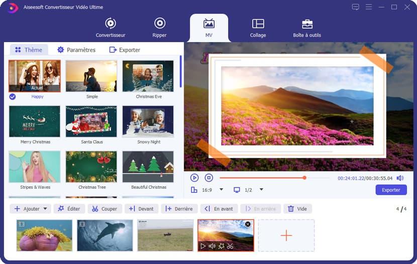 créer mvs avec aiseesoft video converter-ultimate