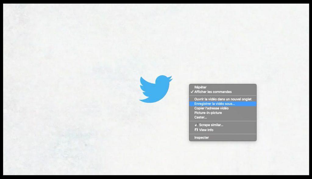 enregistrer vidéo twitter