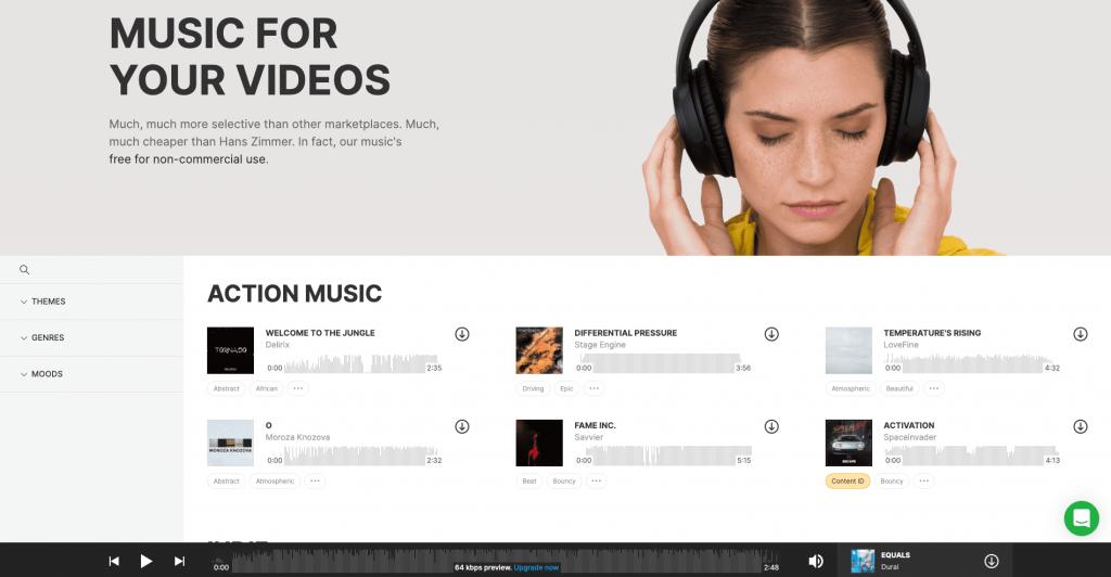 icons8 musiques libres de droits