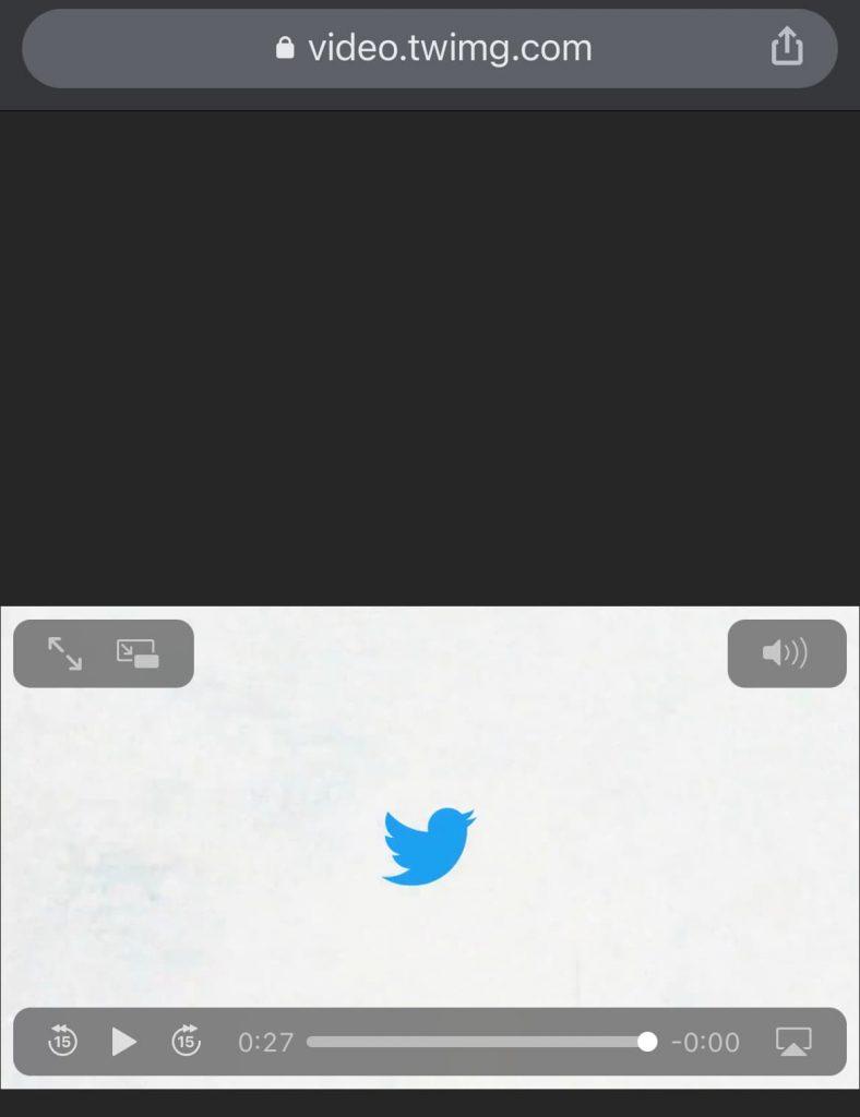 importer vidéo twitter téléchargée drive