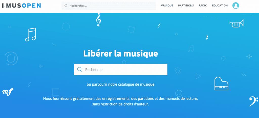 musopen musiques libres de droits
