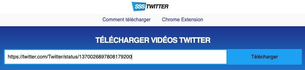 outil télécharger vidéo twitter