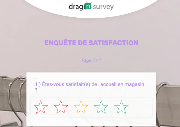 questionnaire en ligne drag n survey