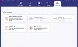 boite à outils aiseesoft video converter ultimate