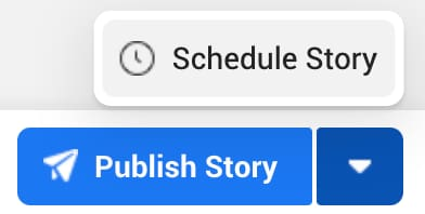 schedule story facebook bouton