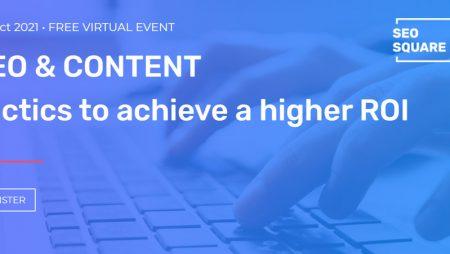 Évènement SEO SQUARE Virtuel Gratuit le 5 & 6 octobre 2021 !